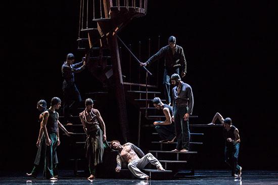 TRISTAN AND ISOLDE Ballet du Grand Théâtre de Genève